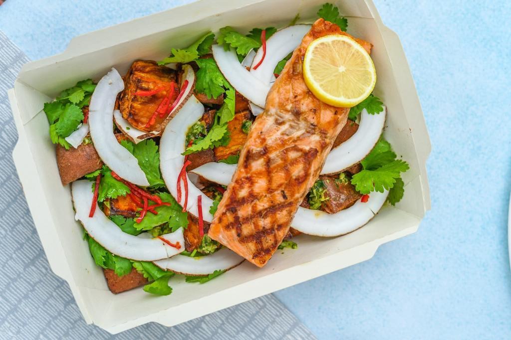 Keto Coconut Salmon with Napa Cabbage — Recipe — Diet