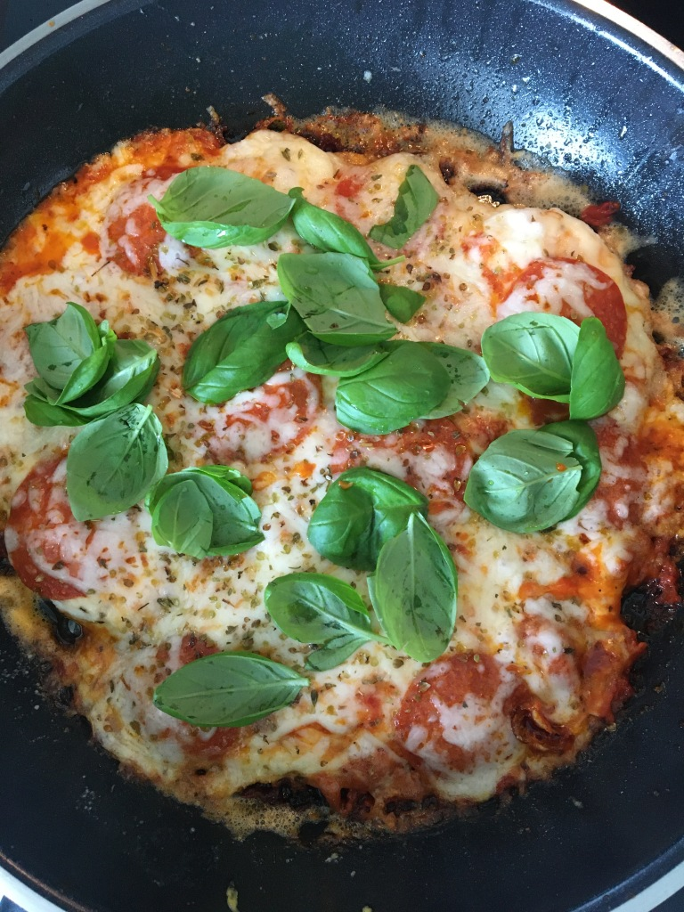 keto pan de pizza - Egg pizza