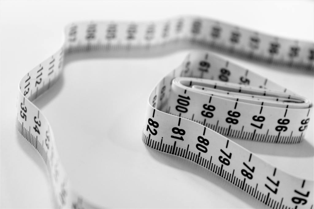 Keto and LCHF measuring tape