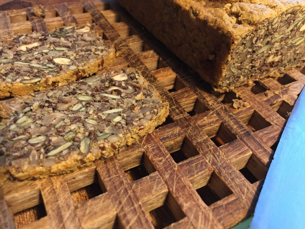 Unusual seed & nut bread without flour