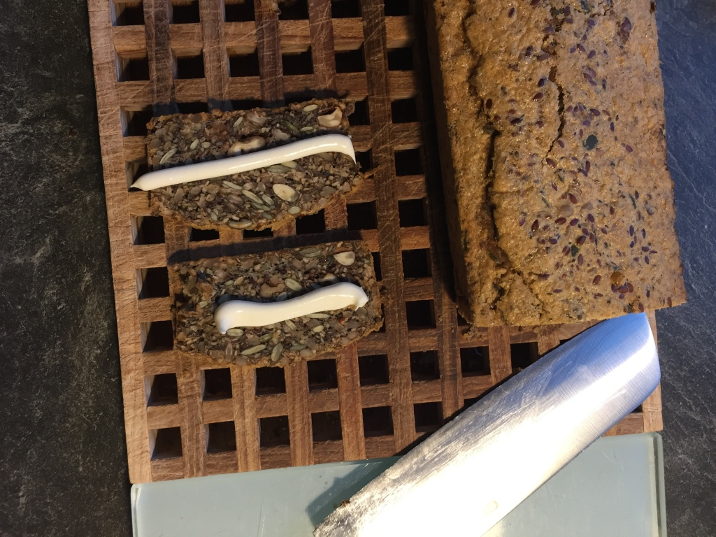 Healthy Seed and Nut Bread - gluten free + vegan